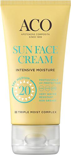 ACO Sun Face Cream SPF 20