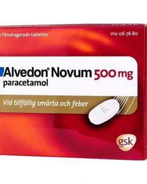 Alvedon Novum 500mg 20 Tablett(er) Filmdragerad Tablett