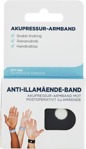 Anti-illamående-band