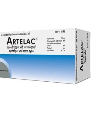 Artelac 60x 0,5ml Ögondroppar, Lösning I Endosbehållare