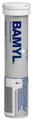 Bamyl, brustablett 500 mg, 25 st
