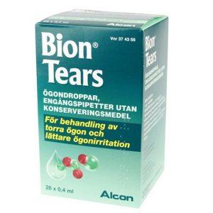 Bion Tears 28x 0,4ml Ögondroppar, Lösning