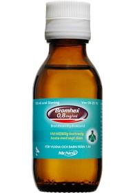 Bromhex, oral lösning 0,8 mg/ml, 100 ml