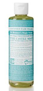 Dr Bronner Mild Liquid Soap, 236 ml