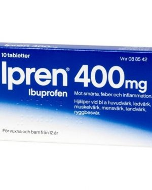 Ipren 400mg 10 Tablett(er) Filmdragerad Tablett