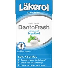 Läkerol DentaFresh Menthol 36 gram