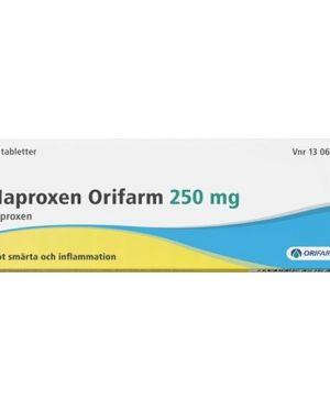 Naproxen Orifarm 250mg 20 Tablett(er) Tablett