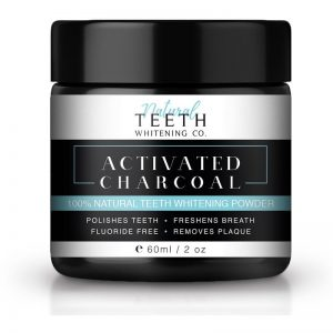Natural Teeth Whitening Co Activated Charcoal - 50 Gram