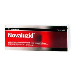 Novaluzid, Tuggtablett 100st