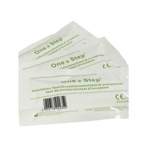 One Step Ovulation Cassette Tests - 20 mIU/ml - 5 Tests