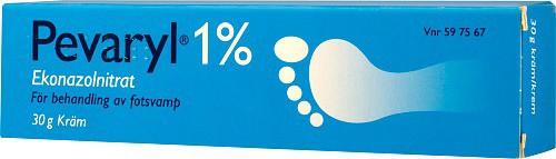 Pevaryl kräm, 1 %, 30 g