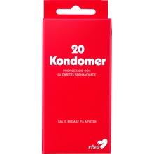 RFSU Tunna och profilerade kondomer 20st