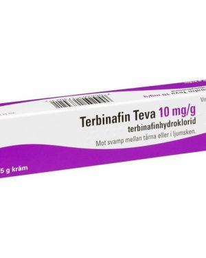 Terbinafin Teva 10mg/G 7,5 gram Kräm