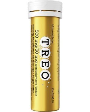 Treo, brustablett 500 mg/50 mg 10 st