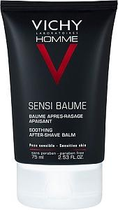 Vichy Homme Sensi-Baume After Shave Balm, 75 ml