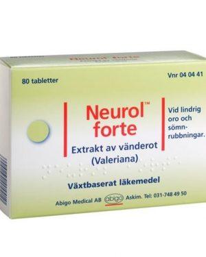 Abigo Neurol Forte 80 Tablett(er) Dragerad Tablett