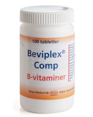 Beviplex Comp 100st Filmdragerad Tablett