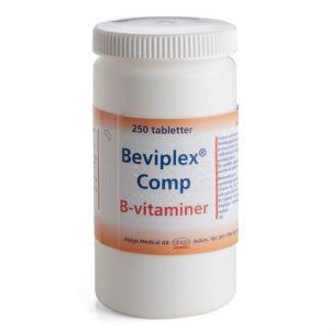 Beviplex Comp 250st Filmdragerad Tablett
