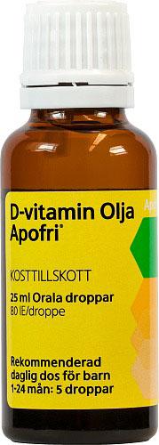 D-vitamin Olja Apofri