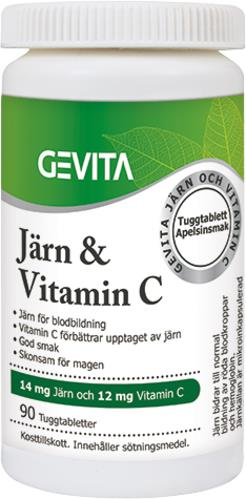 Gevita Järn & Vitamin C