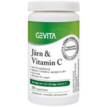 Gevita Järn och Vitamin C 90 st
