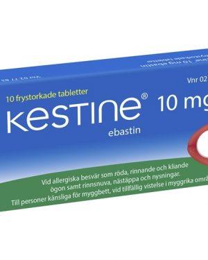 Kestine Ebastin Kestine 10 mg, Frystorkad tablett 10 st