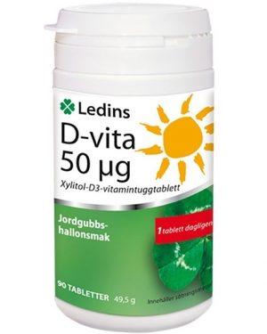 Ledins D-vita 50 µg 90 tabletter