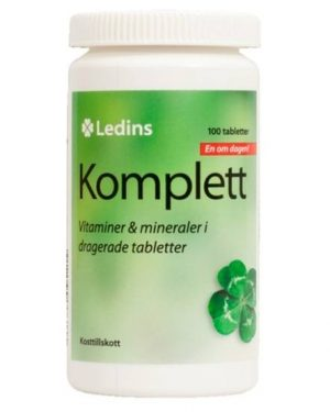 Ledins Komplett multivitamin 100 tabletter