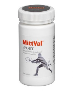 MittVal Mittval Sport 100 Tabletter