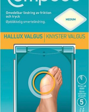 Compeed Hallux Valgus Plåster, 5st