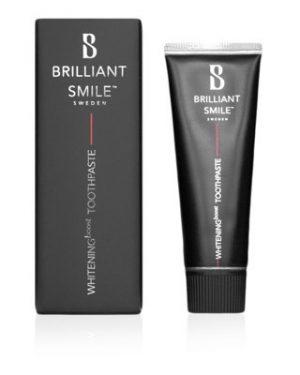 Brilliant Smile 20ml tandkräm whitening boost toothpaste