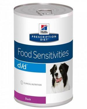 Diet Canine D/D Duck Formula burkar 12 x 370 g