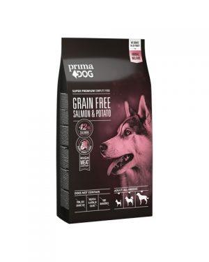 Prima Dog Adult All Breeds Sensitive Lax & Potatis, Grain Free 1,5 kg