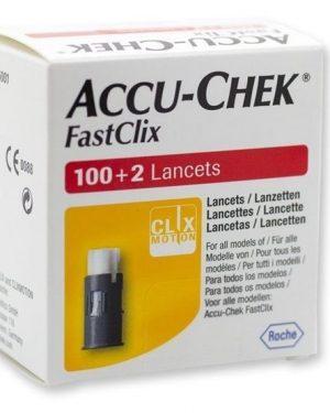 Accu-Chek Fastclix lancetter 102 st