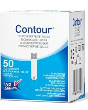 Contour Diabetes Solutions Contour teststickor 50 st