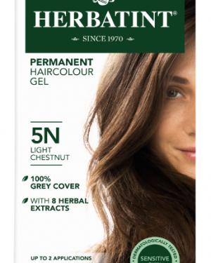 Herbatint 5N hårfarve Light Chestnut - 150 ml