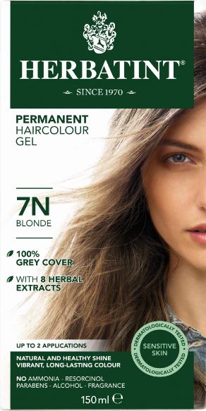 Herbatint 7N hårfarve Blonde – 150 ml