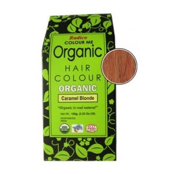 Radico CARAMEL BLONDE – 100% ekologisk hårfärg – 100g