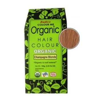 Radico CHAMPAGNE BLONDE – 100% ekologisk hårfärg – 100g