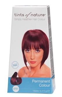 Tints of Nature 4RR Dark Henna Red 130ml - 130 ml