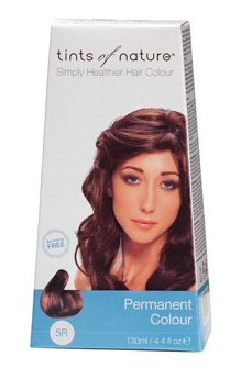 Tints of Nature 5R Rich Copper Brown 130ml - 130 ml