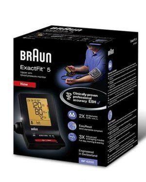 Braun ExactFit 5 Blodtrycksmätare BP 6200