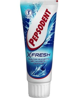 Pepsodent X-Fresh Aquamint tandkräm 75 ml