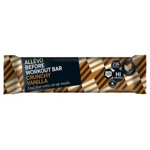 Allévo Before Workout Bar Crunchy Vanilla 65 g