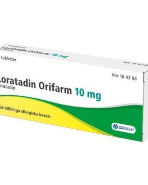 Loratadin Orifarm, tablett 10 mg 14 st