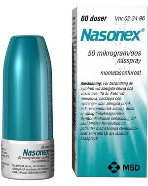 Nasonex Nässpray 60 Doser