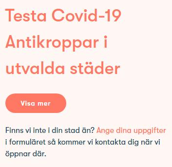 Testa covid 19